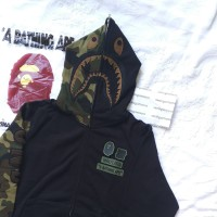 Bape x Undefeated Shark Camo Hoodie not supreme off white assc stussy