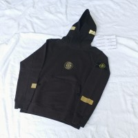 Supreme x Stone Island Hoodie FW17 not off white bape cp company perry