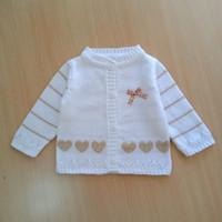 baju hangat bayi bahan rajut sweater jaket