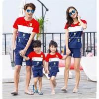 Family 2 Anak Minion Banana - Baju Family/ Couple / Baju Keluarga
