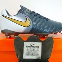 SEPATU BOLA Nike Tiempo Legend VII FG Ori IMPORT (Grey White)