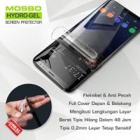 Samsung Galaxy S6 S7 FLAT EDGE Hydrogel Anti Gores Depan Belakang Full