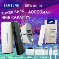 Powerbank 40000mAh Samsung with usb 2 port