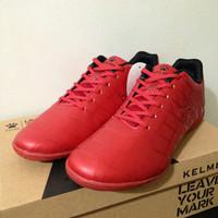 NP Sepatu Futsal Kelme Star 9 Red Black 5501-02 Original BNIB