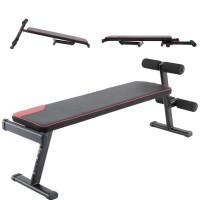 sit up bench press bangku weight adjustable multifungsi foldable lipat