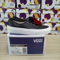 Sepatu Vans Authentic OG LX LV Leather Black White PK Quality BNIB