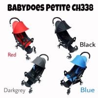 Stroller Babydoes Petite Kereta Dorong Bayi Murah Bisa Di Lipat Kecil