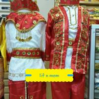 Baju adat anak maluku L atau xl tradisional exlusif