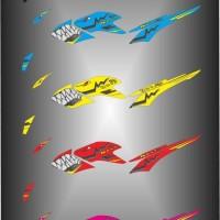 Stiker striping list motor verza shark 2