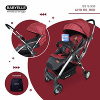 Stroller avio rs reversible with backpack