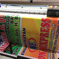 Cetak Print Spanduk MMT 340 gram bahan BO