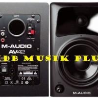 Speaker Monitor M-Audio Av42 Av 42 Garansi Resmi