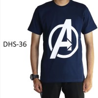 BAJU Kaos Pria Dewasa Superhero Avengers - DHS36