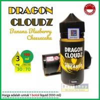 DRAGON CLOUDZ Banana Breaker 100ml3mg LQUID LKL (terlaris)