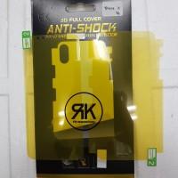 Anti gores shock screen DEPAN BELAKANG 360 IPHONE X full set cover pet