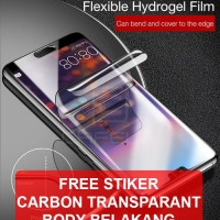CAFELE HYDROGEL Huawei P20 - P20 Pro anti gores tempered glass 3D 4D