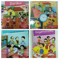 Paket Buku SD Tematik Kelas 1 Tema 1 2 3 4