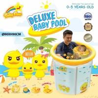 Kolam Baby Spa Baby Flow Jumbo 90x90cm Duck Transparant