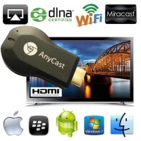 anycast m2 plus dongle dlna miracast hdmi streaming media player-easy