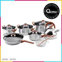 [Khusus GOJEK Instant] OX-933 Panci Oxone Eco Cookware Set 12+ 2Pcs