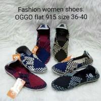 Sepatu OGGO rajut/anyaman tipe 915