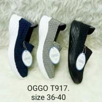 Sepatu OGGO rajut/anyaman tipe 917