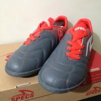 NP Sepatu Futsal Specs Equinox IN Dark Granite Red 400771 Original