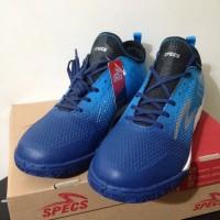 NP Sepatu Futsal Specs Metasala Musketeer Galaxy Rock Blue 400739 Ori