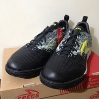 NP Sepatu Futsal Specs Metasala Warrior Black Cool Grey 400780