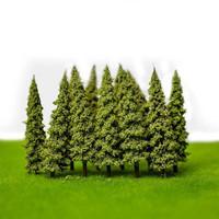 Miniature Pohon Cemara 2 Bahan Maket Arsitek Bahan Diorama Terrarium
