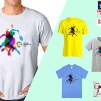 Kaos Baju T-Shirt Asian Games 2018 Olahraga Bulu Tangkis Badminton -12