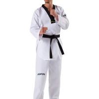 Baju Seragam Dobok Taekwondo Kerah Hitam Kwon Starfighter