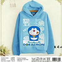 SW FUTARA HOODIE Baju Wanita Pria Sweater Jaket Doraemon Babytery