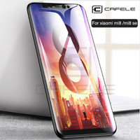 CAFELE Xiaomi Mi 8 Xiaomi Mi 8 SE - 4D Tempered Glass Full Cover