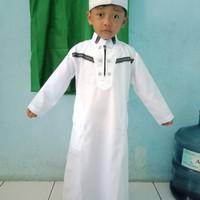 baju koko gamis anak laki (1 sd 12 tahun)
