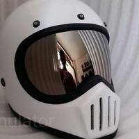 Inner visor kaca helm custom cakil bogo chrome moto3 bandit vigano hbc