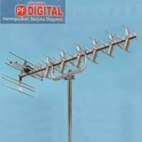 PF HD-U25 Antenna Digital UHF High Gain - Antena TV Analog Kuat Awet