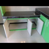Pintu kitchen set penutup bawah model tarik