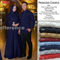 Princess couple baju wanita muslim gaul