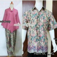 COUPLE KEBAYA FLOY COUPLE KEBAYA CONDANGAN SALEM CLASIC PINK