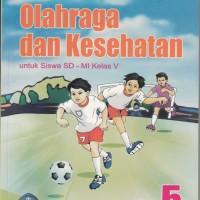 Buku Buku BSE : PenJas OrKes untuk SD/MI kelas 5, Pengarang : Dadang