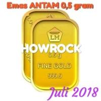 Emas Antam 0.5 Gram - Logam Mulia Lm 05 0 5 Tahun Terbaru Best Quality