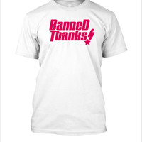 BANNED THANKS - Kaos Tshirt Logo Parody Bang Dream