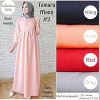 Tamara maxy dress / Baju muslimah / baju hamil bumil / Busui / gamis