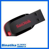 Original USB Flashdisk Sandisk 16GB Cruzer Blade - Binatika Shop