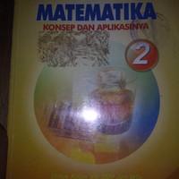 Buku matematika kls 2 SMP karya dewi nuharini penerbit BSE