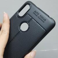 Softshell Autofocus Black Carbon Case Asus Zenfone Max Pro M1 / ZB620