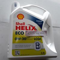 OLI MESIN SHELL HELIX ECO 0W-20 API SN ILSAC GF-5 3.5L