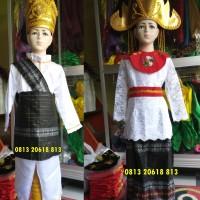 Lampung Couples PAUD-TK | Baju Adat Karnaval Kostum Tari Anak Tradisi