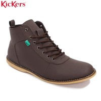Kickers Brodo Bandit Brown Sepatu Casual Pria Sneakers Shoes
